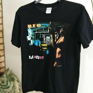 REO speedwagon t shirt